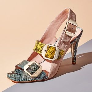 Louise et Cie | BNIB Leather Slingback Sandals